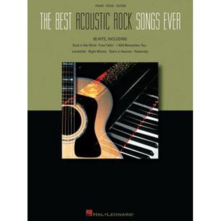 The Best Acoustic Rock Songs Ever (Songbook) - eBook - Best Halloween Rock Songs