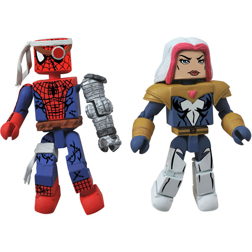 Marvel Minimates: Cyborg Spider-Man and Marvel's Songbird 2-Pack