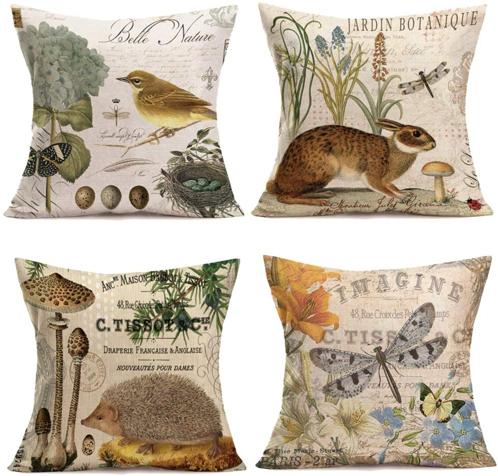 Animal Pillow Case Animal Pillow Covers Cute Pillow for Kids Animal Pillow Baby Shower Gift Kids Toss Pillow Animal Pillow Nursery