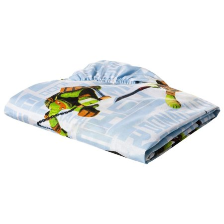 TMNT Ninja Turtles 'City Limits' 3pc Twin Bed Sheet Set](Ninja Turtle Sweets)