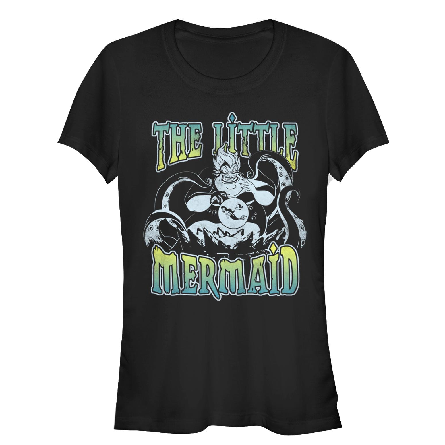 The Little Mermaid Juniors' Ursula Sneak T-Shirt