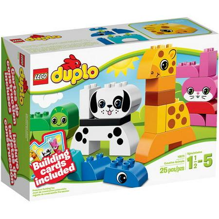 LEGO DUPLO Creative Play Creative Animals Building Set
