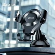 Dashboard Car Phone Holder, TSV Quick Release Universal Cell Phone Holder for Car Dash Windshield Mount 360 Rotation fit for iPhone 11 X, 8/8 Plus, 7/7 Plus, 6/6 Plus, Samsung Galaxy S10, S9, S8