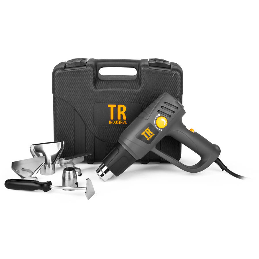 TR Industrial Heat Gun Kit, Variable Temperature Control, 1500-Watt