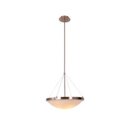 Design House 573139 Eastport Bowl Pendant Light Fixture, Satin Nickel - image 1 de 1