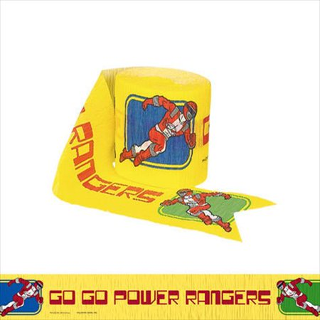 Power Rangers 'Red Ranger' Crepe Paper Streamer (1ct) for $<!---->