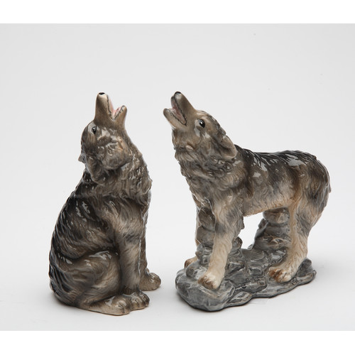 Cosmos Gifts Wolf Salt and Pepper Set