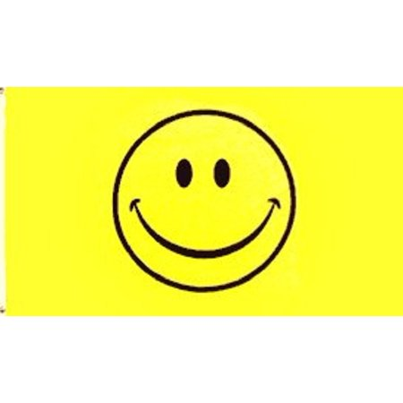 - Happy Face Flag Smiley Face Banner Smile Pennant New Indoor Outdoor 3x5 Foot