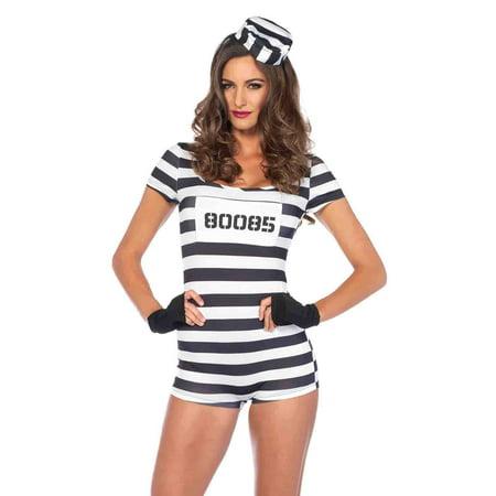 Convict Costumes (Leg Avenue Convicted Cutie Adult Womens)