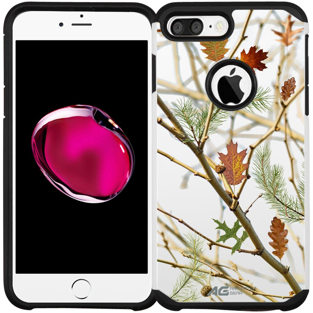 iPhone 6s Plus / 6 Plus (5.5 inch) Case - Armatus Gear (TM) Slim Hybrid Armor Case Protective Phone Cover