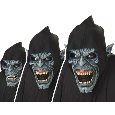 Night Stalker Scary Ani-motion Mask - Scary Pumpkin Mask