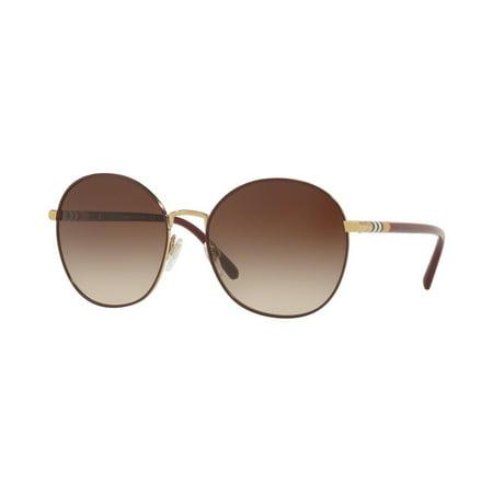 Sunglasses Burberry BE 3094 125613 LIGHT (New Burberry Sunglasses)