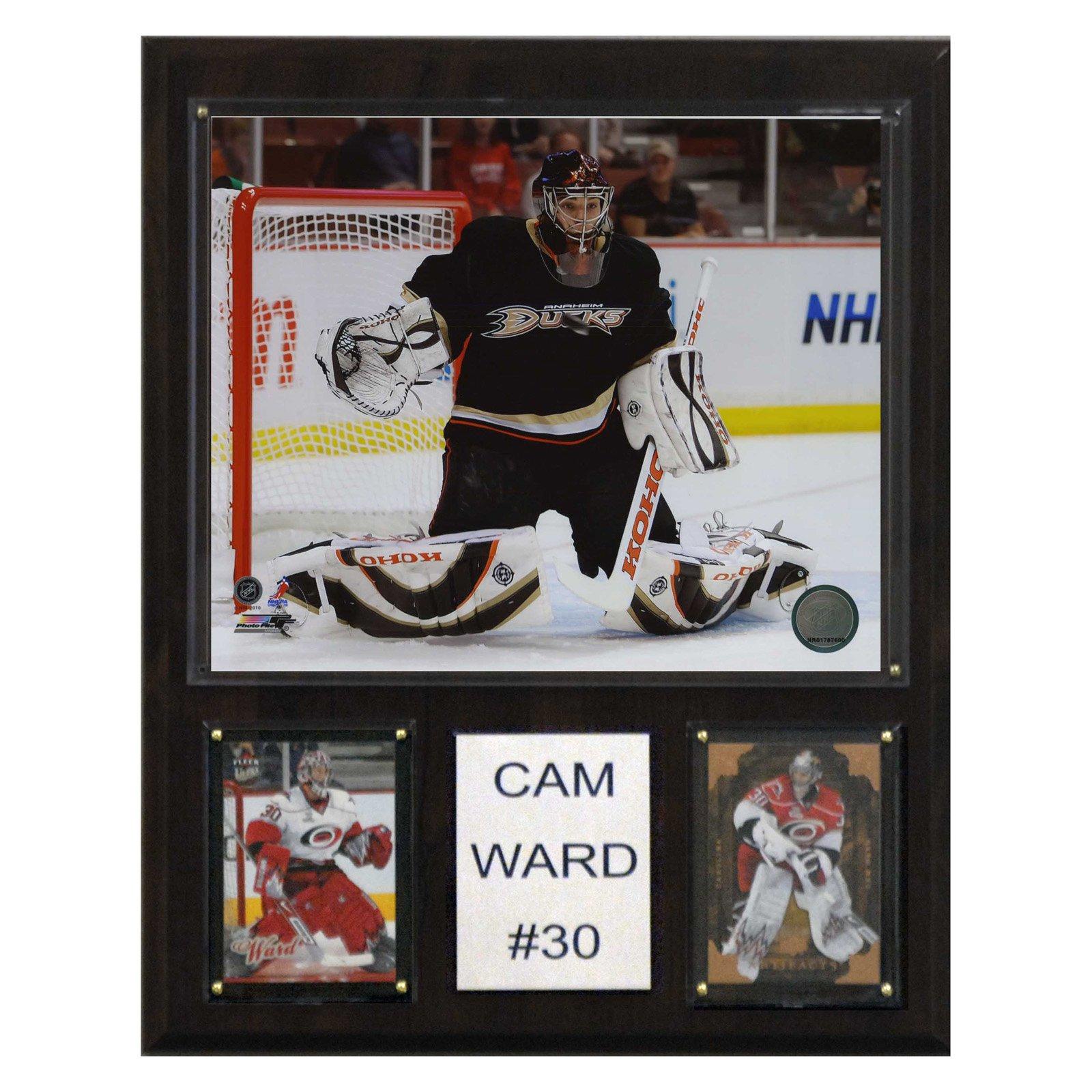 C&I Collectables NHL 12x15 Cam Ward Carolina Hurricanes Player Plaque