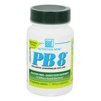 Nutrition Now PB 8 Pro-Biotic Acidophilus 60 Capvegi, Pack of 2