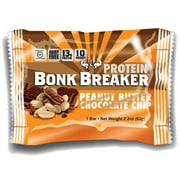 Bonk Breaker, Peanut Butter & Chocolate Chip Protein Bar, 12pcs