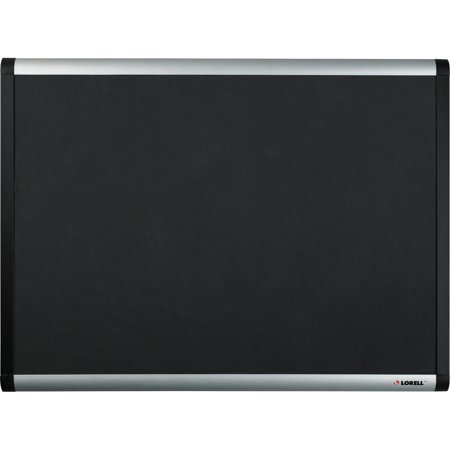 Lorell Bulletin Board (Lorell, LLR75696, Black Mesh Fabric Covered Bulletin Boards, 1 / Each)