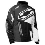 Castle X Launch SE G4 Youth Girls Snowmobile Jacket Black/White