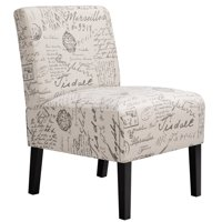 Fabric Accent Chair Sofa Chair Upholstered Dining Chair for Living Room/Bedroom/Sitting Room/Kitchen/Hallway