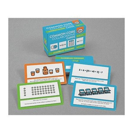 Algebra Common Core Collaborative Card Game  For Grades 3 5 By Didax Educational Resources
