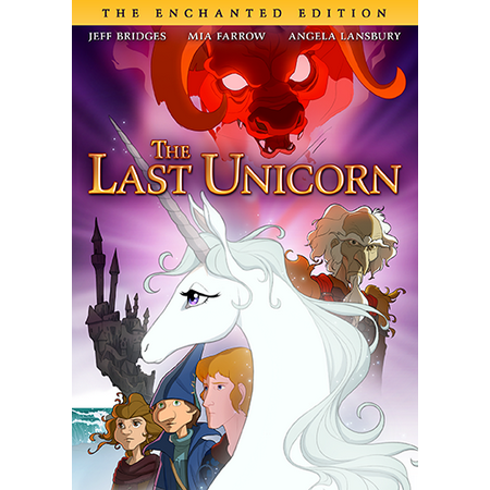 The Last Unicorn (The Enchanted Edition) (DVD) (Free Animation Factory)