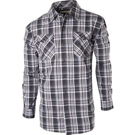 CS07SL2XL Men's Slate Long Sleeve Precision Shirt - Size 2X-Large