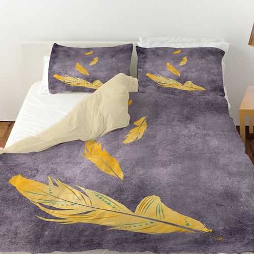 Manual Woodworkers & Weavers Feather Float Duvet Cover