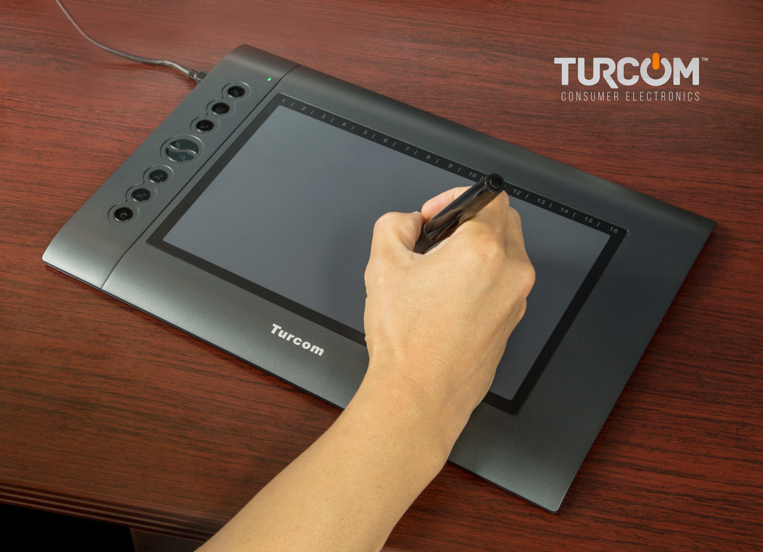 turcom graphic tablet drawing tablets and pen stylus for pc mac