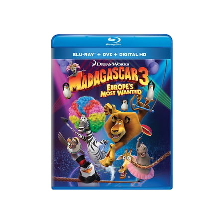 Madagascar 3: Europe's Most Wanted (Blu-ray) - Madagascar 3 Characters