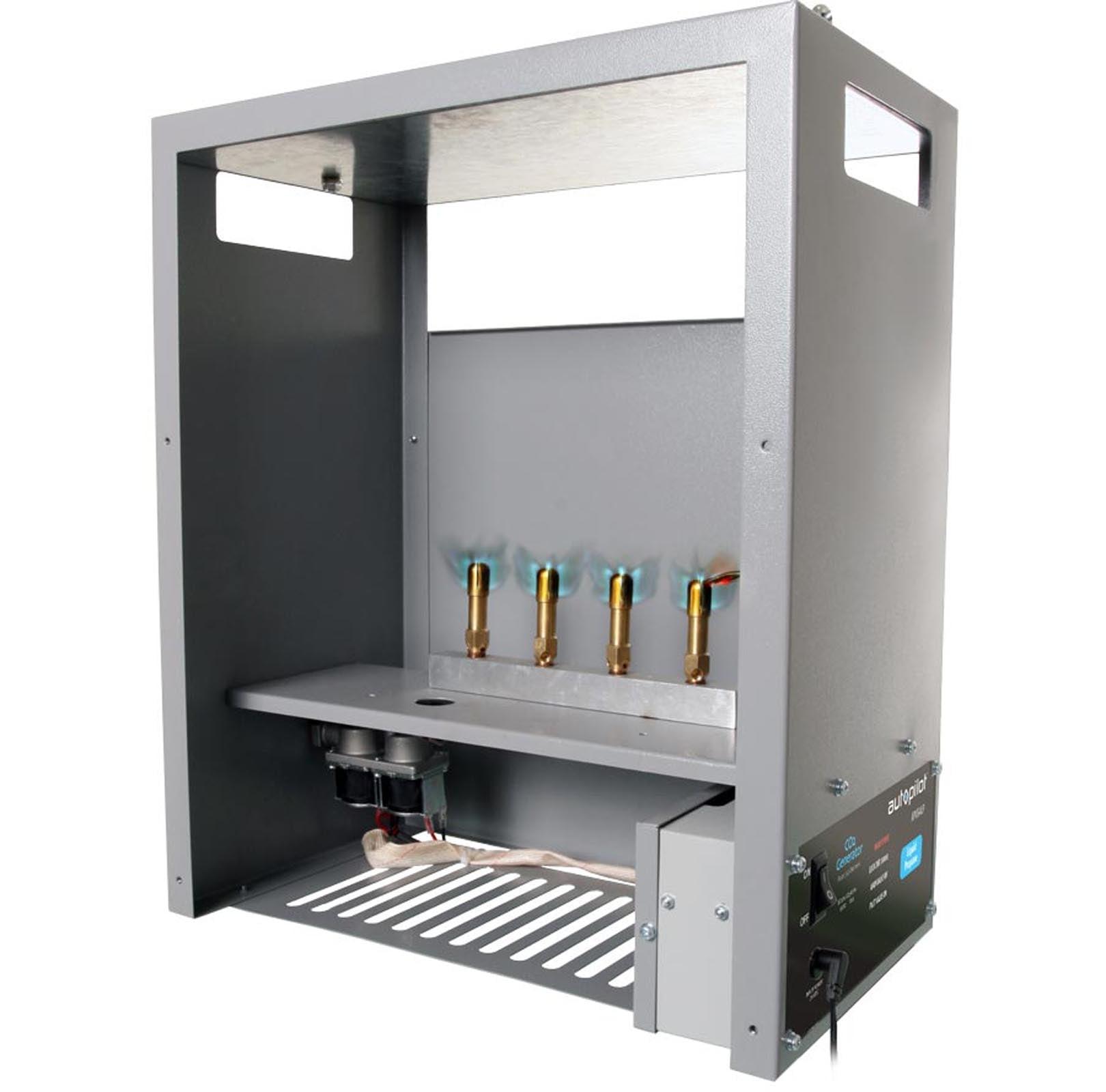 AutoPilot APCG4LPH High Altitude 4 Burner Co2 Generator LP/HA | 2,262-9,052 BTU