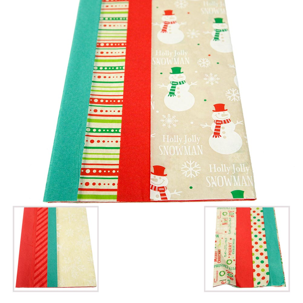 Holiday Seasons Tissue Paper Variety Pack
