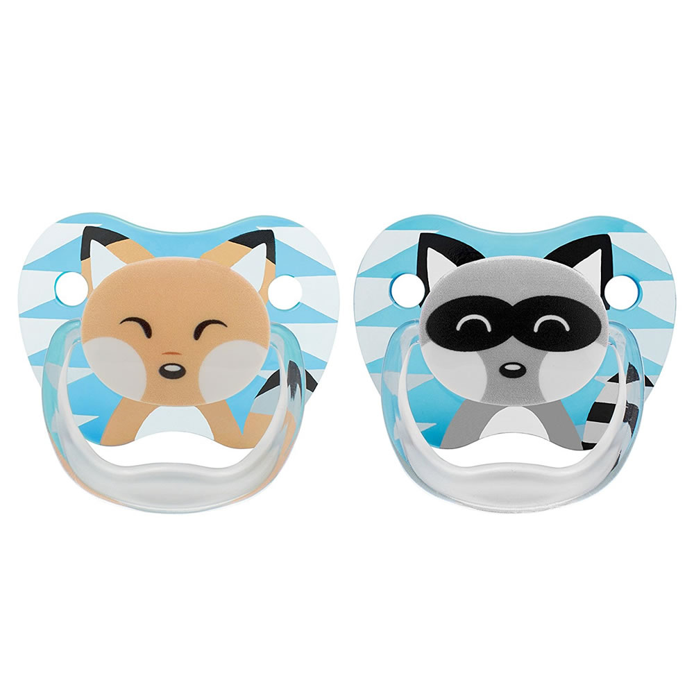 Dr. Brown's PreVent Pacifiers in Blue 0-6 Months by Dr. Brown%27s