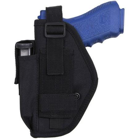Black - Tactical Pistol Belt Holster
