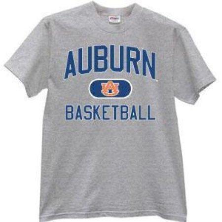1947 Ash Grey T-shirt - Auburn Tigers T-shirt - Dark Ash Basketball
