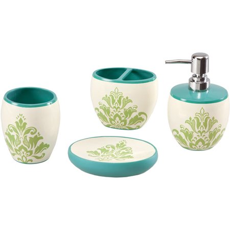 Home Essence Apartment Carly 4-Piece Bath Accessory Set