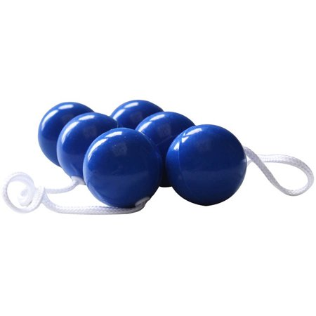 BolaBall Ladderball Ladder Golf Game Replacement Balls, Set of 3, Blue](Ladder Golf Dimensions)