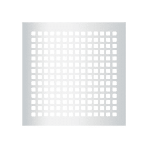 "Reggio Registers G1616-SNH Grid Series 14"" x 14"" Floor Grille without Mounting Holes"