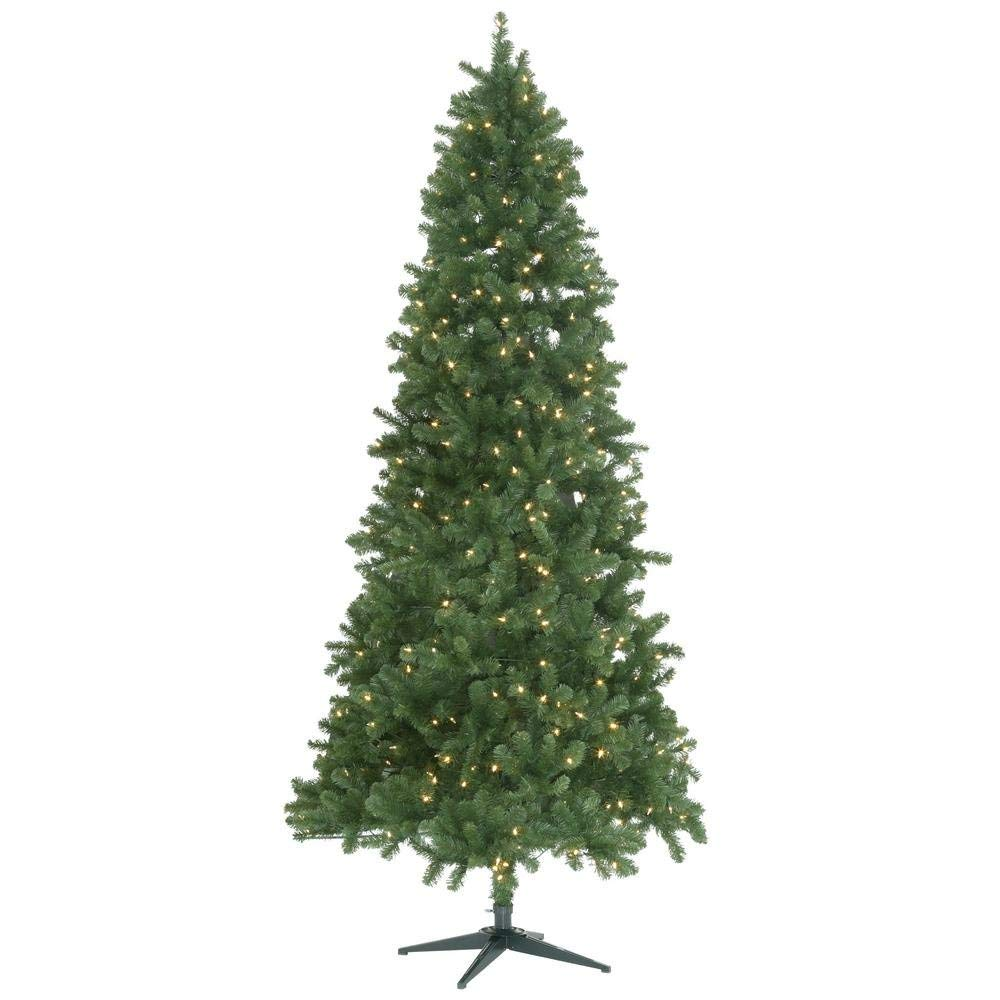 9 Ft Led Pre Lit Grand Duchess Slim Pine Artificial Christmas Tree