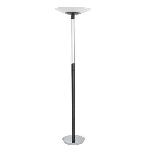 Eglo  89518A  Floor Lamps  Turn  Lamps  Torchiere Lamps  ;Black / Chrome