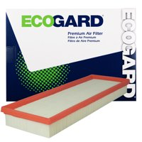 ECOGARD XA6183 Premium Engine Air Filter Fits 2012-2016 Fiat 500 Non-Turbo
