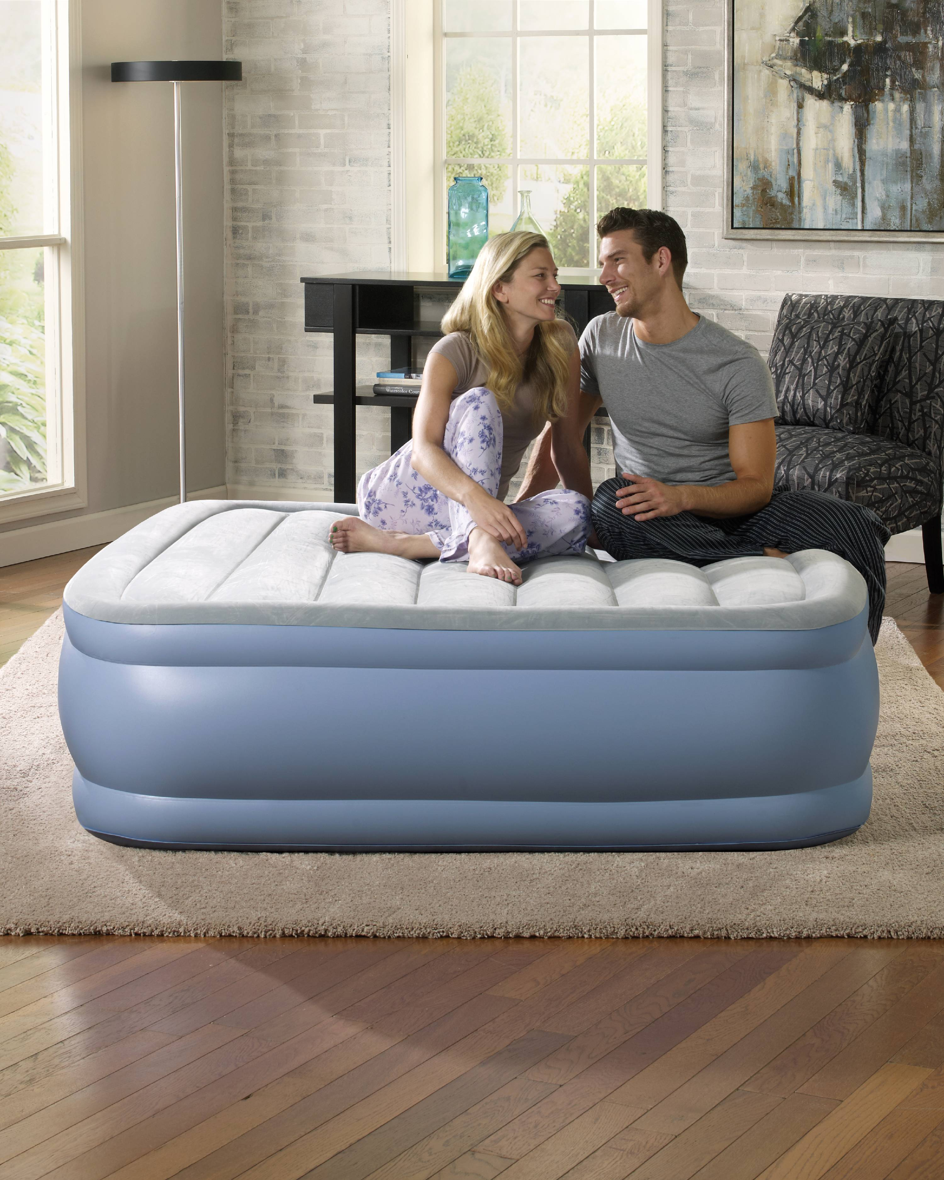 New Hi-Gear High Rise Flock King Size Airbed