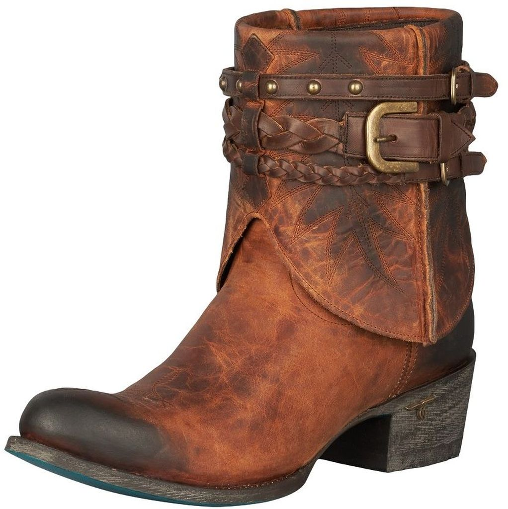Lane Western Boots Womens Dove Embroided Detailed Design Honey LB0206A