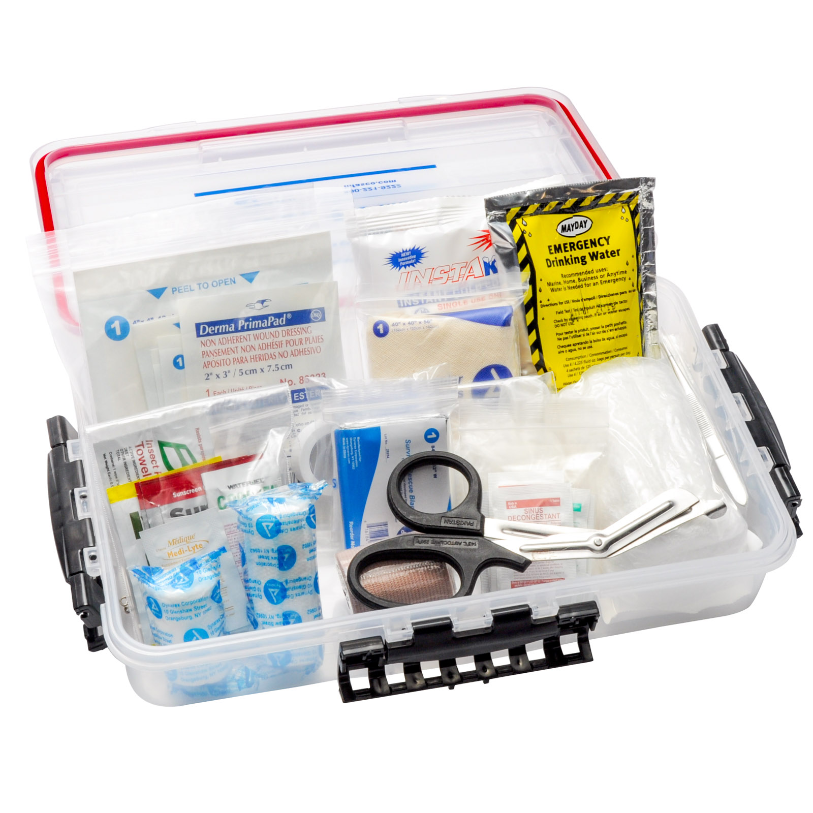 Marine First Aid Kit Small Waterproof Container