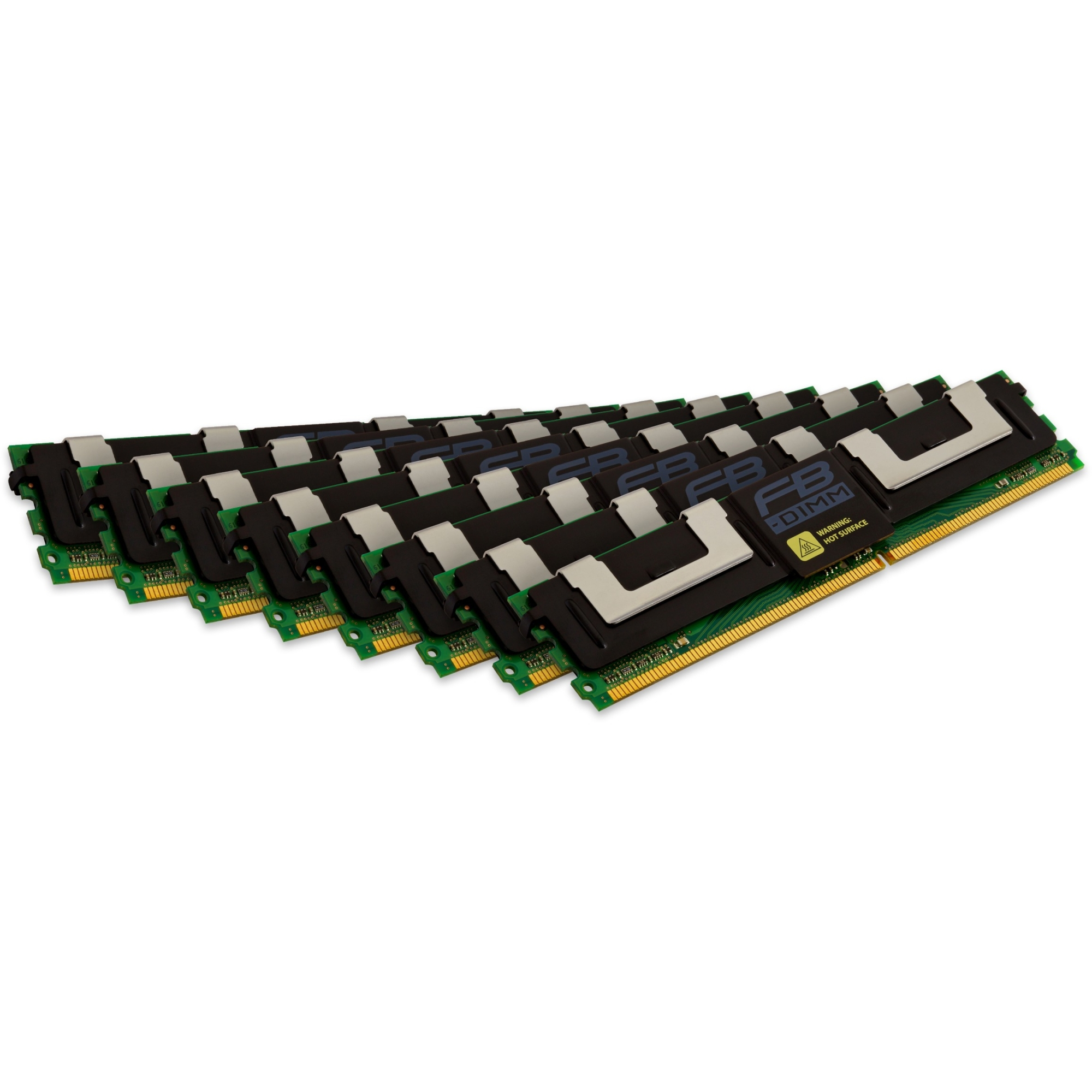 Kingston 64GB DDR2 SDRAM Memory Module - 64GB (8 x 8GB) - 667MHz (Refurbished)