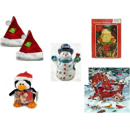 Christmas Fun Gift Bundle [5 Piece] - Be Jolly Premium Santa Hat 17