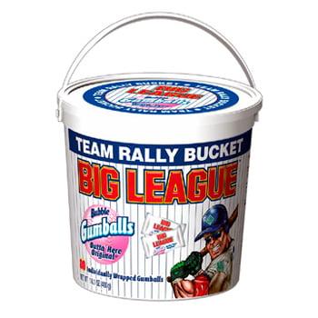 Big League Chew Team Bucket 240 Pieces: 1 Count
