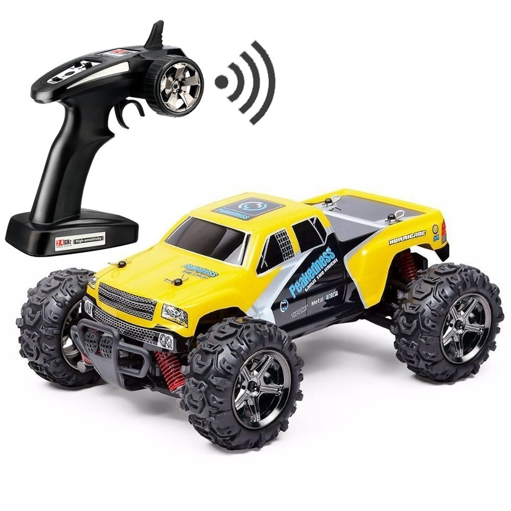 FSTgo RC Car Rock Crawler 32MPH Fast 4x4 Fast Race Cars Off Road 4WD 1:24 RTR Racing Monster Truck 2.4G Radio Remote Control Car (BG1510C)