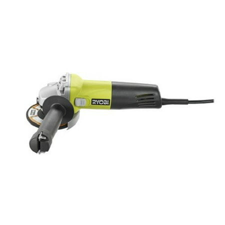 Ryobi ZRAG403G 5.5 Amp 4-1/2 in. Angle Grinder (Green) (Certified Refurbished) …