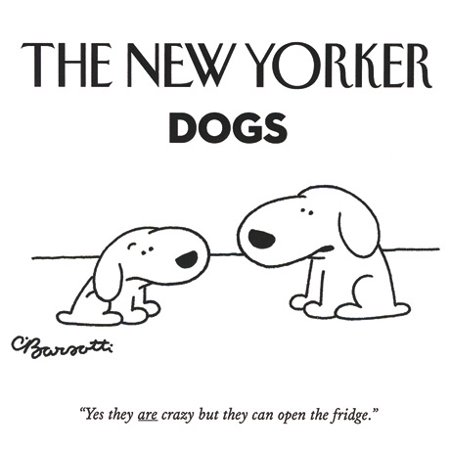 the new yorker dogs notecards 20 notecards 4 each of 5 designs