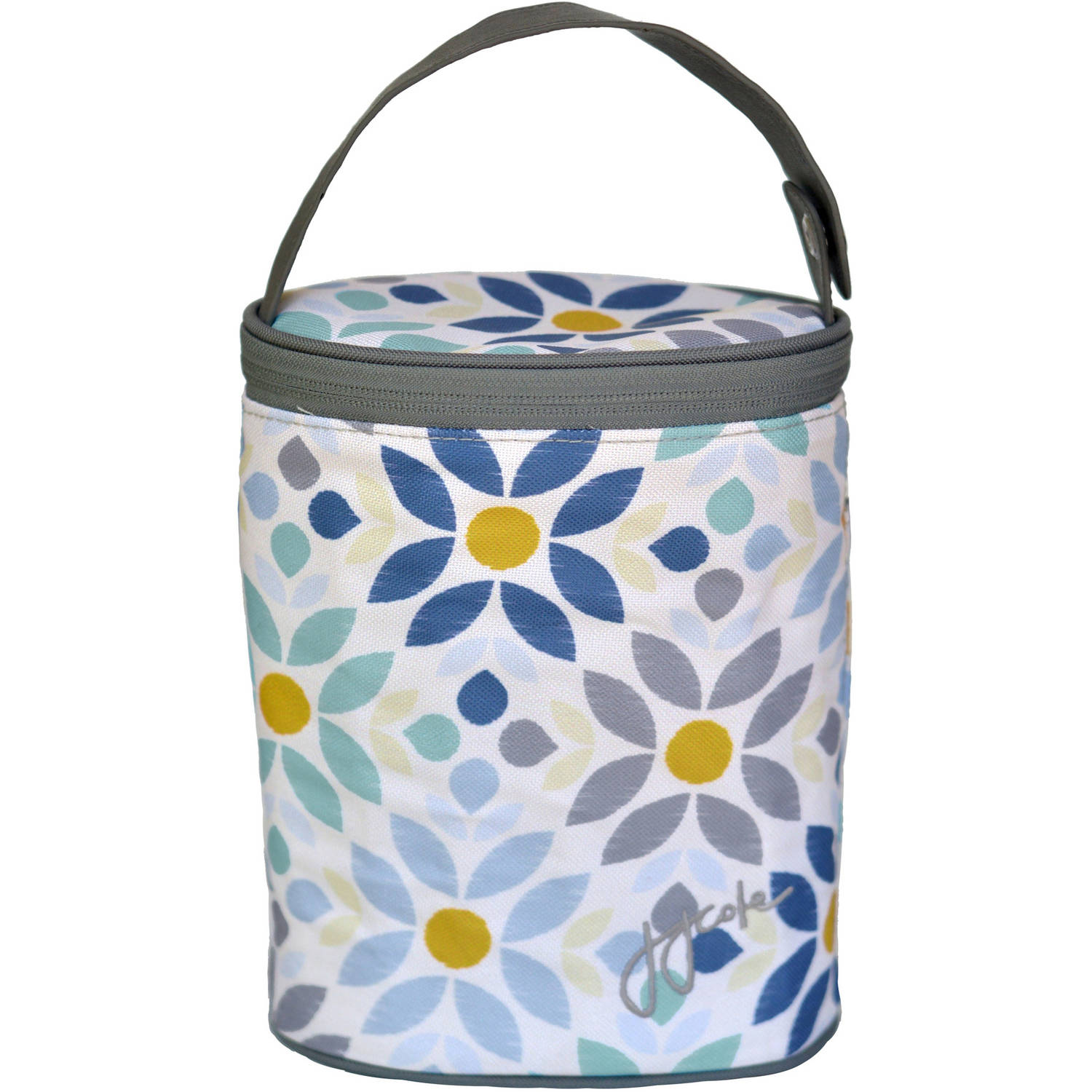 JJ Cole 2-Bottle Baby Bottle Cooler Bag, Prairie Blossom