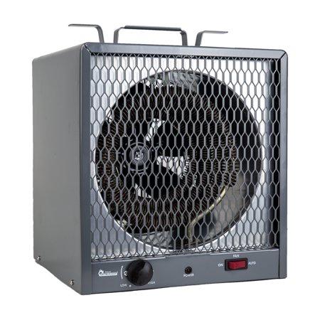 Heater Accessories - Dr. Infrared Heater 5600W Garage Workshop Portable Industrial Space Heater, Gray
